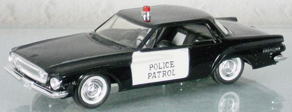 417 johan 1962 dodge dart police car promo lot 417. Black Bedroom Furniture Sets. Home Design Ideas
