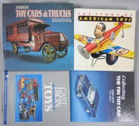 4 TOY REFERENCE BOOKS