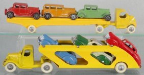 2 Tootsietoy Car Sets