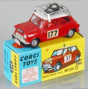 Corgi 317 Monte-carlo Bmc Mini Cooper S