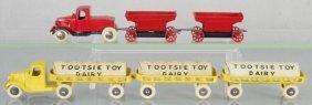 2 Tootsietoy Truck Sets