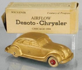National Products 1934 Chrysler Airflow Promo