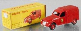 Dinky Fr25d Citroen 2cv Fire Van