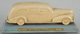 Flxible Buick Hearse Advertising Paperweight