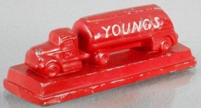 Youngs Trucking Advertising Paperweight