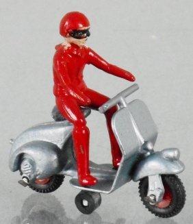 Benbros 15 Vespa Scooter W/rider