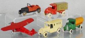 5 Tootsietoy Vehicles
