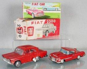 2 Japanese Fiats