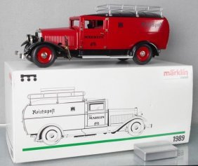 Marklin 1989 Post Office Truck
