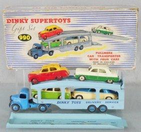 Dinky 990 Pullmore Car Transporter Gift Set