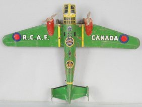 Marx Rcaf Airplane