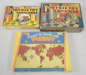 3 Tootsietoy Orig Boxes