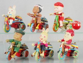 6 Toy Tricycles
