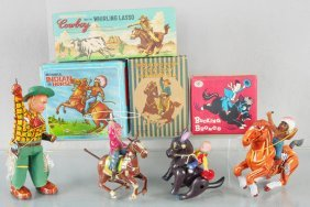 4 Western Toys
