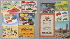 10 Dinky Catalogs
