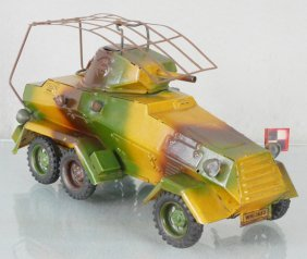 LINEOL WH1653 6-WHEEL RADIO RECONNAISSANCE CAR