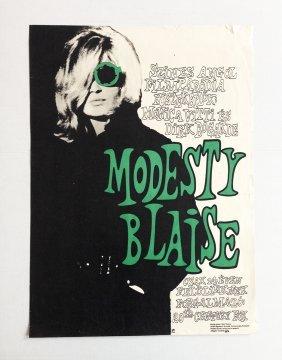 Modesty Blaise Movie Poster