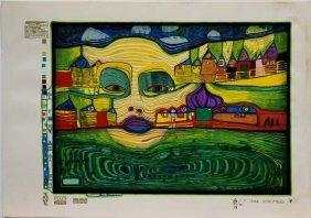 Hundertwasser, Friedensreich , American 20th C.,
