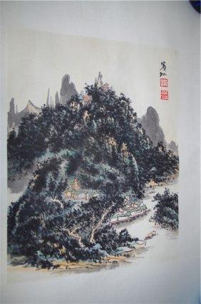 Watercolour Huang Binhong