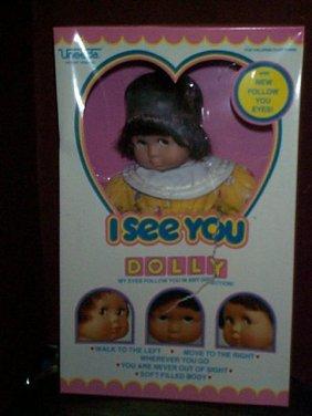 Uneeda ICU Dollie # 71390  My Eyes Follow You In A