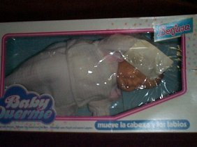 """Baby Duerme Doll By Berjusa  Measures 18"""" Tall  Wr"""