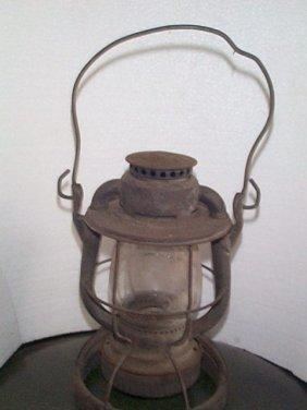 Dietz Hanging Railroad Lantern  Signed: RDG. Compa