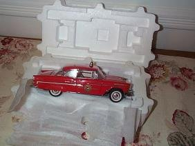 Franklin Mint Precision Model 1955 Chevrolet Bel Ai