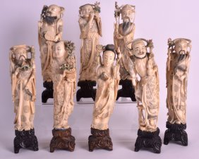 A Fine Set Of Eight Early 20th Century Chinese
