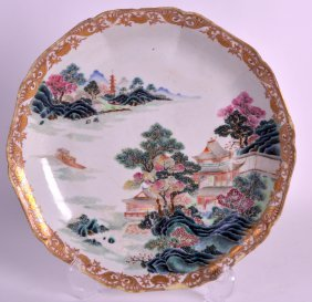 A Fine Early 18th Century Chinese Famille Rose