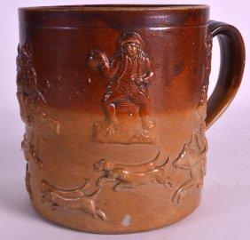An 18th/19th Century English Stoneware Tankard