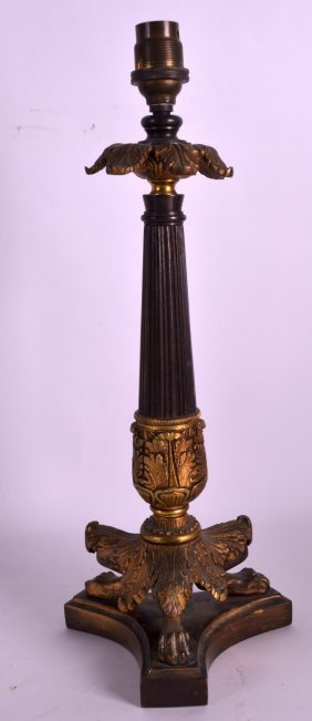 A Mid 19th Century French Gilt Bronze Empire