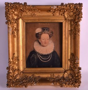 An Early 19th Century Portrait Of Catherine Parr