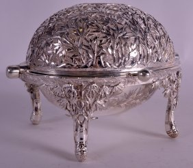 A Rare Late 19th Century Chinese Export Silver