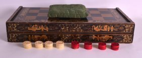 An Early 19th Century Chinese Export Gaming Box