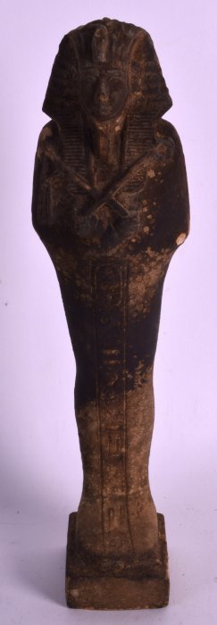 An Egyptian Ushabti Faience Type Figure Possibly New