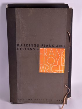 A Lovely Folio Of Drawings And Building Plans By Frank