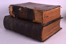 Henrys Family Bible Volume 1 Together With A Large