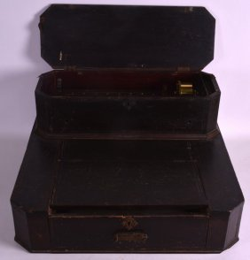 A Rare 19th Century Swiss Musical Box Contained Within