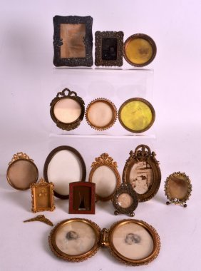 A Collection Of Antique French And Other Miniature