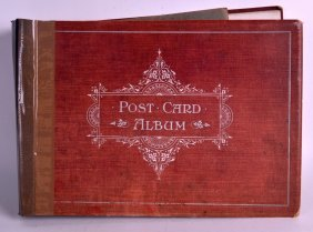 A Postcard Album C1920 With Over 500 Southern British
