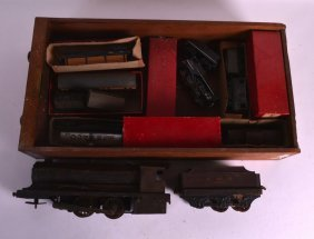 A Quantity Of Vintage Trains To Include The Lms 1300