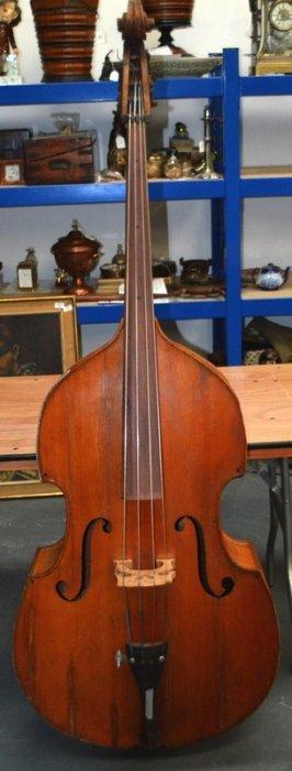 A Large Antique Double Bass.