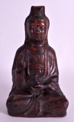 An Early 20th Century Chinese Lacquered Bronze Figure