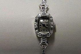 Lavish Antique Concord Diamonds & Baguettes Platinum