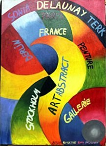 Rythme Color 1948' - Oil Painting - Sonia Delaunay