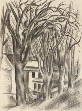 ANDREW DASBURG, House And Trees, 1933
