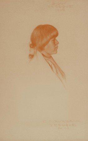 E.A. BURBANK, O-Qui, Tesuque, 1909