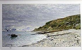 Lithograph After Claude Monet
