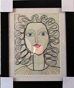 Woman Ii 1950' - Pablo Picasso