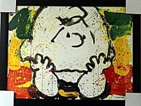 Call Waiting - Lithograph By Tom Everhart